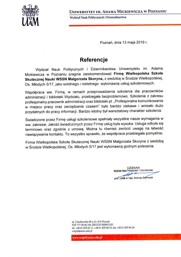 Uniwersytet im. Adadma Mickiewicza w Poznaniu